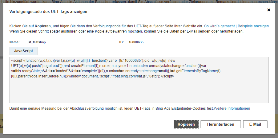 UET-Tag-ID