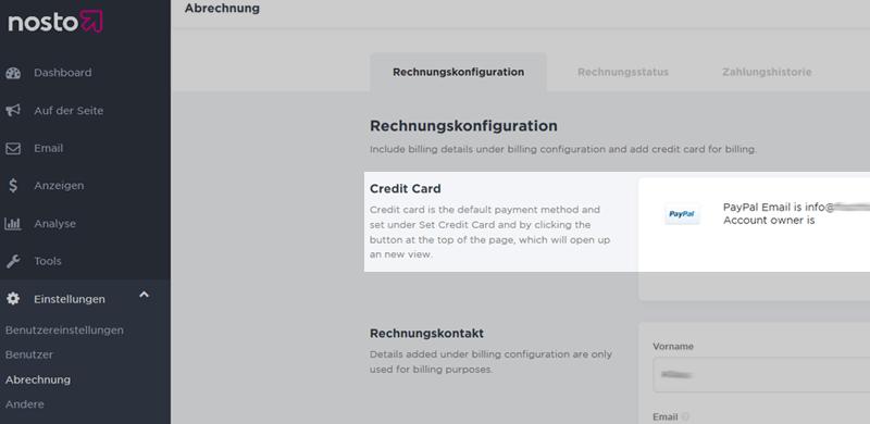 Kreditkarte & Paypal