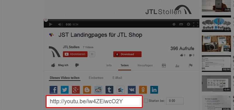 youtube code